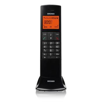 Brondi Lemure Telefono DECT Nero Identificatore di chiamata