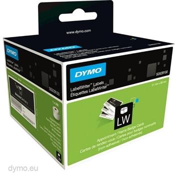 DYMO LW - Biglietti per appuntamento/badge nominativi - 51 x 89 mm - S0929100