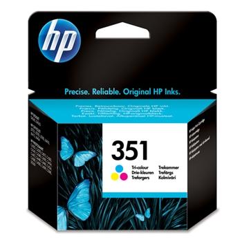 HP 351 Originale Ciano, Magenta, Giallo 1 pezzo(i)