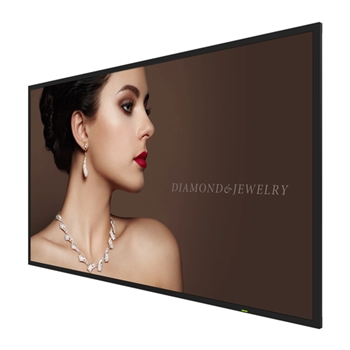 "Benq ST4301K 109,2 cm (43"") LED 4K Ultra HD Pannello piatto per segnaletica digitale Nero"