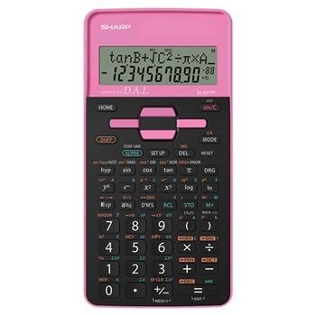 Sharp EL531THBPK - ROSA calcolatrice Tasca Calcolatrice scientifica Nero, Rosa