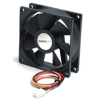 StarTech.com FAN6X25TX3H ventola per PC Case per computer Ventilatore 6 cm Nero 1 pz