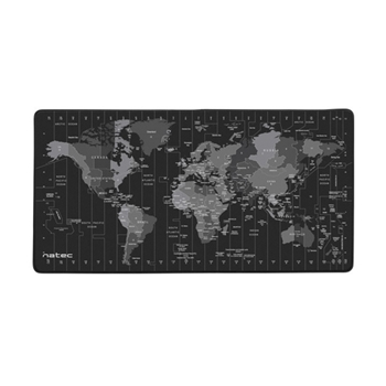 NATEC NPO-1119 Natec OFFICE MOUSE PAD - Time Zone Map 800 x 400