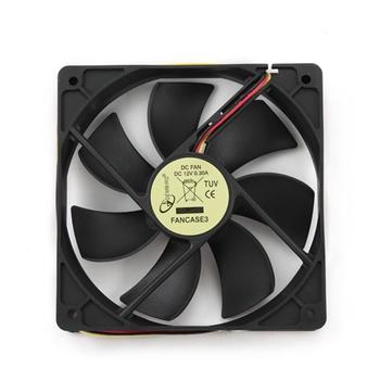 Gembird FANCASE3 ventola per PC Computer case Ventilatore 12 cm Nero