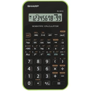 SHARP EL 501XB-GR - VERDE