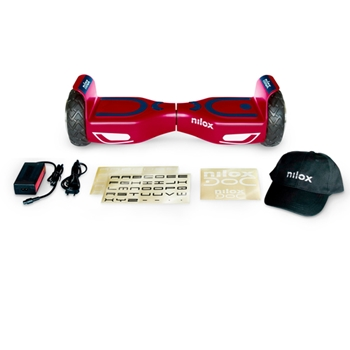 NILOX DOC 2 HOVERBOARD PLUS RED/BLUE