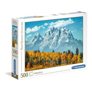 Clementoni Grand Teton in fall Puzzle 500 pezzo(i)