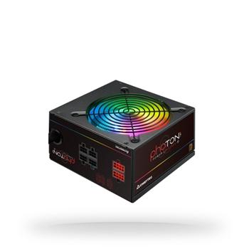 CHIEFTEC Photon RGB 650W ATX 12V 85 proc Bronze Active PFC 120mm silent RGB fan