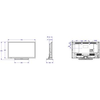 "Philips Studio 32HFL2889S/12 TV Hospitality 81,3 cm (32"") HD 250 cd/m² Nero 12 W A+"