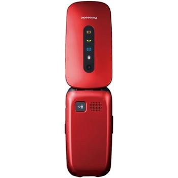 "Panasonic KX-TU456 6,1 cm (2.4"") 110 g Rosso Telefono cellulare basico"