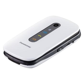 """Panasonic KX-TU456 6,1 cm (2.4"""") 110 g Bianco Telefono cellulare basico"""