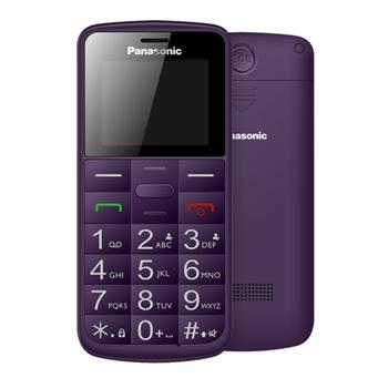 "Panasonic KX-TU110 4,5 cm (1.77"") Viola Caratteristica del telefono"