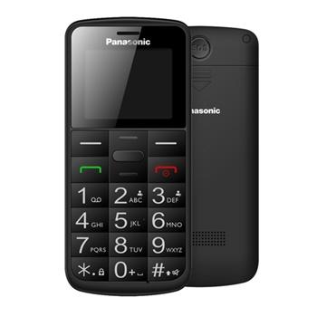 """Panasonic KX-TU110 4,5 cm (1.77"""") Nero Caratteristica del telefono"""