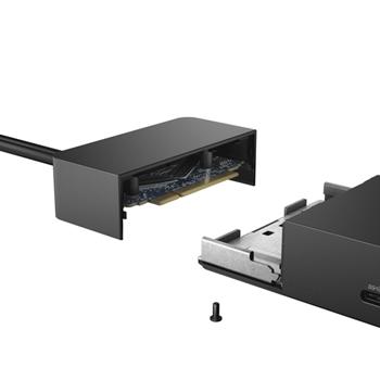 DELL WD19DC Cablato USB 3.2 Gen 1 (3.1 Gen 1) Type-C Nero