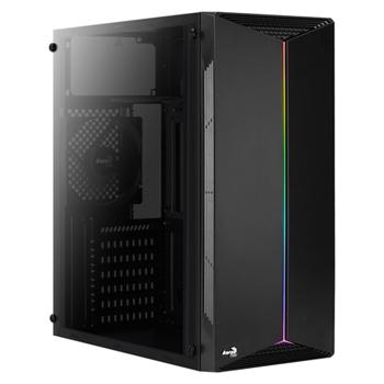 AEROCOOL AEROPGSSPLIT-A-BKRGB PC case ATX Aerocool SPLIT RGB USB 3.0 - RGB STRIP 1x120mm FAN