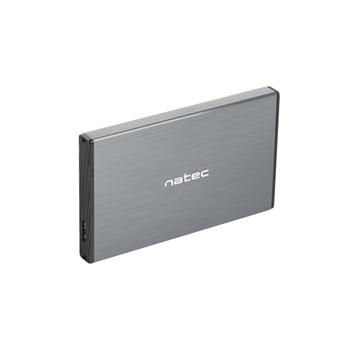 "NATEC Rhino GO 2.5"" Enclosure HDD/SSD Grigio"