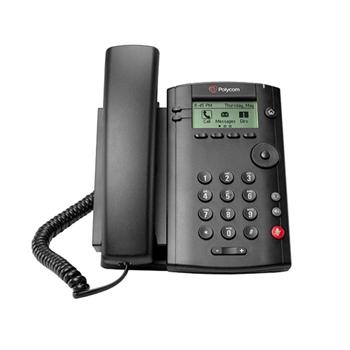 Polycom VVX 101 telefono IP Nero Cornetta cablata LCD 1 linee