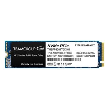 TEAM GROUP TM8FP4512G0C101 SSD MP34 512GB M2 PCIe Gen3 x4 NVMe 3000/1700 MB/s IOPS 190/160K