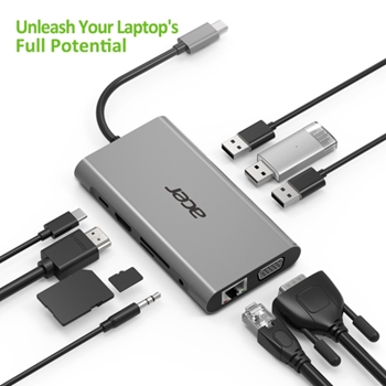ACER 10IN1 TYPE C DONGLE