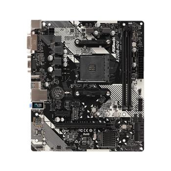 ASROCK MB AM4 A320M-HDV R4.0 MICRO ATX 2xDDR4 4xSATA RAID M.2 VGA/DVI/HD