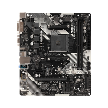 Asrock A320M-HDV R4.0 scheda madre Presa AM4 Micro ATX AMD A320