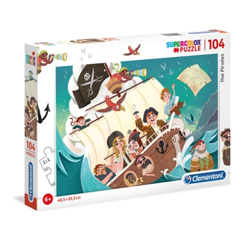 Clementoni The Pirates Puzzle 104 pezzo(i)