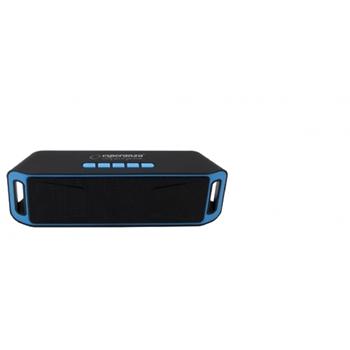 Esperanza EP126KB altoparlante portatile Altoparlante portatile stereo Nero, Blu 6 W