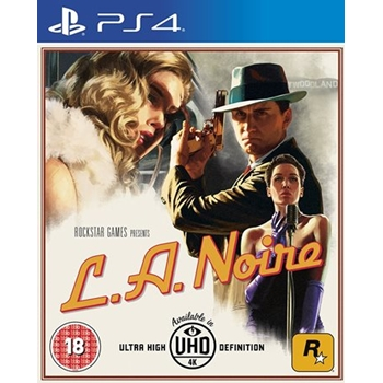 Take-Two Interactive L.A. Noire, PS4 videogioco PlayStation 4 Basic ITA