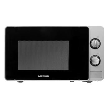 MEDION FORN MICROONDE 20L SILVER