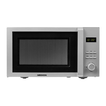 MEDION FORN MICROONDE 23L SILVER