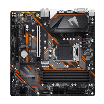 Gigabyte B365 M AORUS ELITE scheda madre LGA 1151 (Presa H4) Micro ATX Intel B365