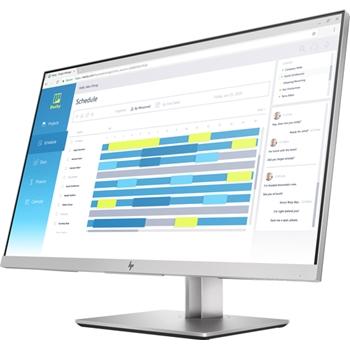 "HP EliteDisplay E273d 68,6 cm (27"") 1920 x 1080 Pixel Full HD LED Nero, Argento"