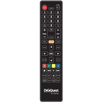 Digiquest TLC114 telecomando IR Wireless TV Pulsanti