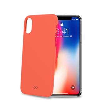 """Celly Shock custodia per cellulare 14,7 cm (5.8"""") Cover Arancione"""