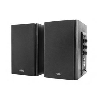 Adj PRO-SOUND SPEAKER 2.0 BLACK AC 220V/50HZ 80HZ-18KHZ 30W (RMS 2-vie Nero Cablato