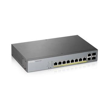 Zyxel GS1350-12HP-EU0101F switch di rete Gestito L2 Gigabit Ethernet (10/100/1000) Supporto Power over Ethernet (PoE) Grigio