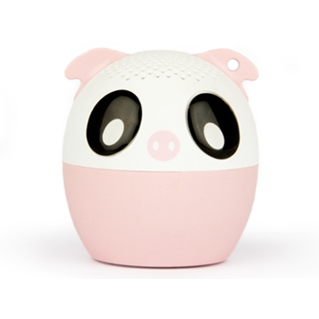 Hamlet XBTPET-PIG altoparlante portatile Altoparlante portatile mono Nero, Rosa, Bianco 4 W