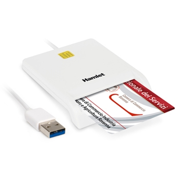 HAMLET LETTORE SMART CARD USB 3.0