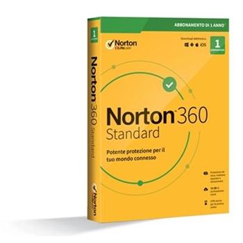 NORTON 360 STANDARD 2020 1DEV 1Y