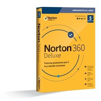 NORTON 360 DELUXE 2020 5DEV 1Y 50GB