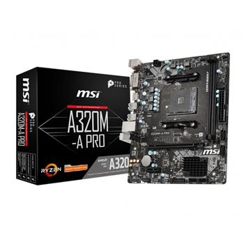 MSI A320M-A PRO scheda madre Presa AM4 Micro ATX AMD A320