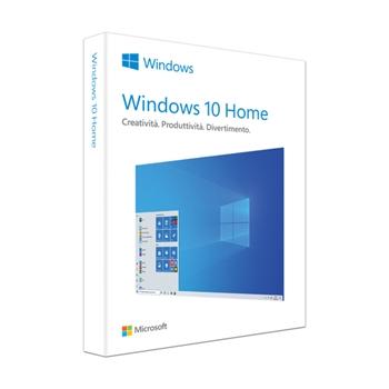 Microsoft Windows 10 Home Prodotto completamente confezionato (FPP) 1 licenza/e