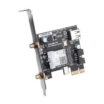 Gigabyte GC-WBAX200 scheda di rete e adattatore Interno WLAN / Bluetooth 2400 Mbit/s