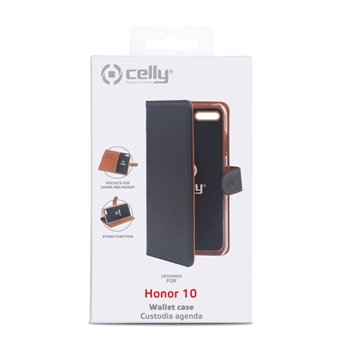 "Celly WALLY custodia per cellulare 14,8 cm (5.84"") Custodia a libro Nero"