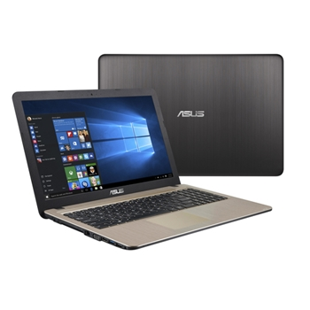 "ASUS X540MA-GQ001T Nero, Cioccolato Computer portatile 39,6 cm (15.6"") 1366 x 768 Pixel Intel® Celeron® N N4000 4 GB LPDDR4-SDRAM 500 GB HDD"