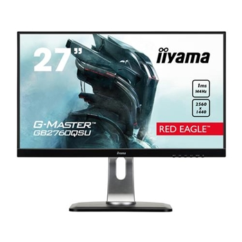 IIYAMA 27i WIDE LCD G-Master Red Eagle 2560x1440 WQHD TN LED Bl USB-Hub(2xOut) Pivot Height Adjust. DP(144Hz)/HDMI(144Hz)/DVI-D 1ms