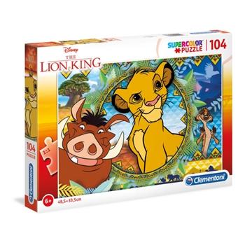 Clementoni Lion King Puzzle 104 pezzo(i)