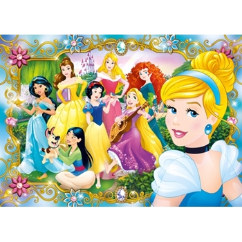 Clementoni Disney Princess Puzzle 104 pezzo(i)