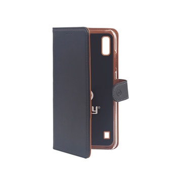 "Celly Wally custodia per cellulare 15,8 cm (6.2"") Custodia a libro Nero, Marrone"