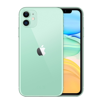 "Apple iPhone 11 15,5 cm (6.1"") 64 GB Doppia SIM 4G Verde iOS 13"